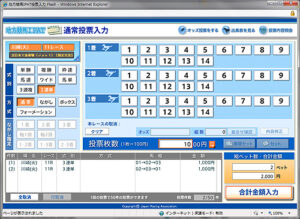 012203 300x219 - ネット投票は金銭感覚が麻痺する。