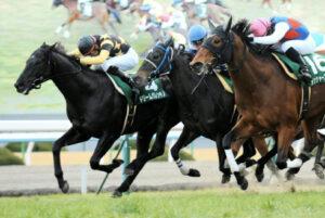 012704 300x201 - シルクロードS(京都・G3) 直線馬群を割って58kgドリームバレンチノ(松山)!ゴール前の追い比べを制して重賞2勝目!
