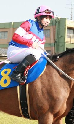 f0e5b98e - CBC賞の誘導馬に名古屋の新人女性騎手・木之前葵(19)が騎乗 ハート柄の勝負服がトレードマーク、今年デビューで既に6勝