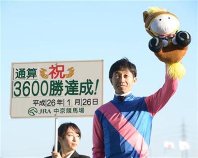 b0a00927 - 【中央競馬】武豊騎手(44)、JRA通算3600勝達成!「今年もダービーを勝ちたいし、3700勝は秋くらいにできるようにがんばりたい」