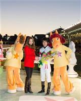 e9b51e78 - 香里奈、来年の抱負「新たな一面を見せられたらいいな」…大井競馬場で行われた東京大賞典表彰式