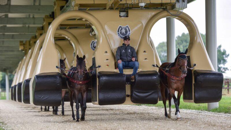 keiba 1511129626 4001 - オブライエン厩舎の育成法。車で馬を調教する