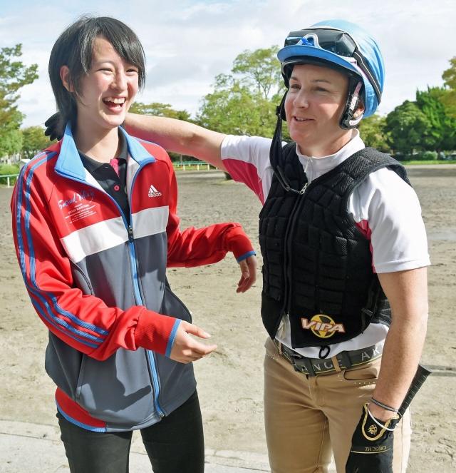 keiba 1528705723 13902 - 【悲報】菜七子ちゃんが川田将雅ブルゾンを着てる件