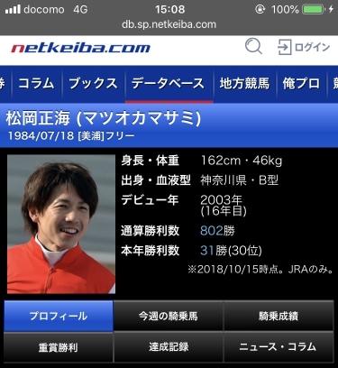 keiba 1539927557 3901 - 藤田菜七子「松岡さんが『麻雀やるぞ』とか『パチンコ行くか』って誘ってくる」