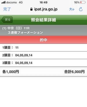 keiba 1610867441 9701 300x369 - 【日経新春杯】13人気のミスマンマミーアどうやって買うの?