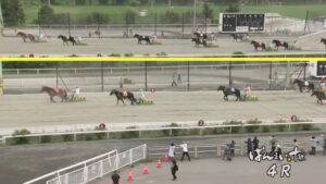 keiba 1629098406 802 300x169 - 【ばんえい競馬】人気馬がゴール直前で転がって寝る